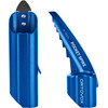 Ortovox Pro Alu III + Pocket Spike Safety Blue